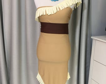 Pocahontas inspired cosplay costume