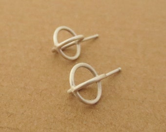 Interlocking Rings Earrings