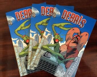 DEBRIS - Short story comic collection