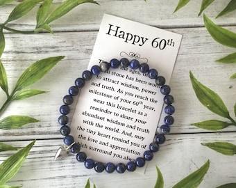 Sixty Birthday The Big 60 60th Birthday Gift 60 Jewelry Age Birthday Gift 60 and Fabulous Special Birthday