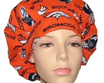 9a39e4c3f Broncos scrub   Etsy