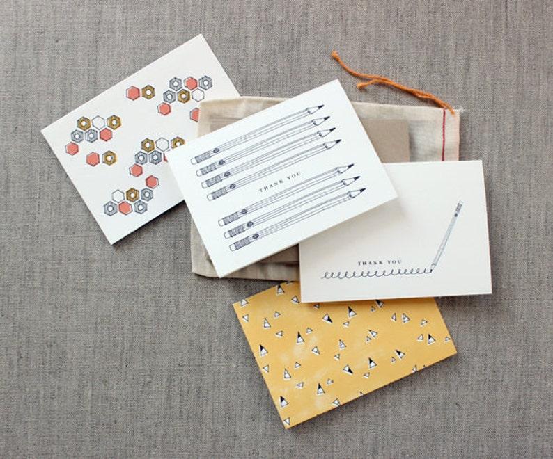 Favorite Teacher Gift: Set of 8 Assorted Notecards image 0