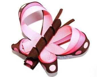 Custom Listing Butterfly Triple Ribbon Sculpture Hair