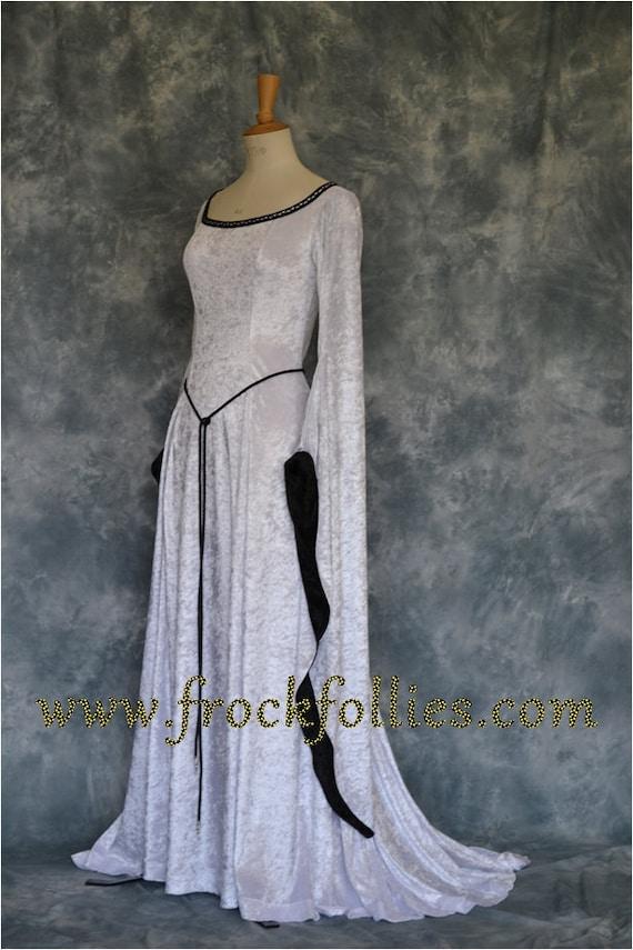 Medieval handfasting gown Renaissance gown Pre Raphaelite | Etsy