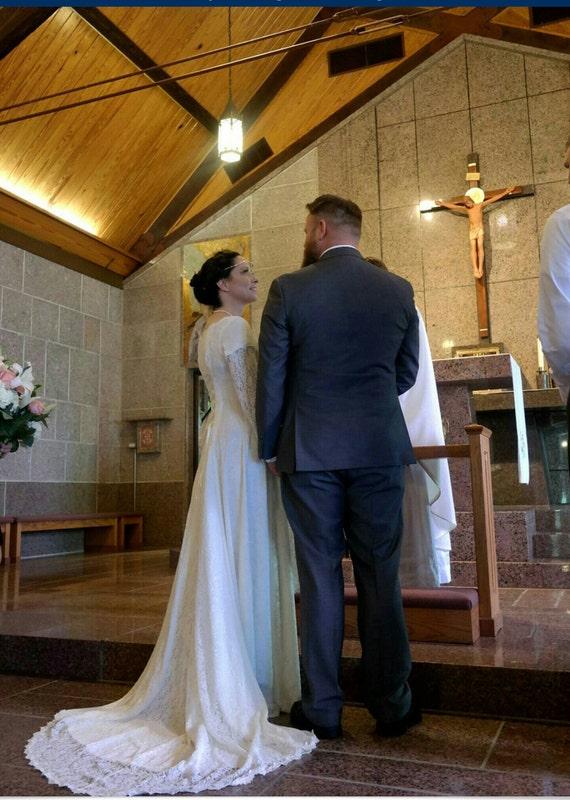 Elvish Wedding Dress Medieval Hand Fasting Gown Robe | Etsy