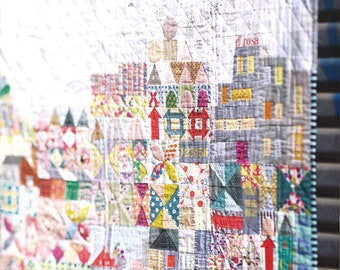Jen Kingwell Book, 1 Quilt Book, My Small World, 35 Page Book, Pattern, Creating My Small World, Scrappy, Sweet