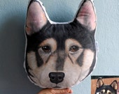 Custom Pet Portrait  Pillow Plush, Shiba Inu Pillow, Personalized  gift for pet lovers, Dog pillow, Cat piilow, cat gifts,  father gift