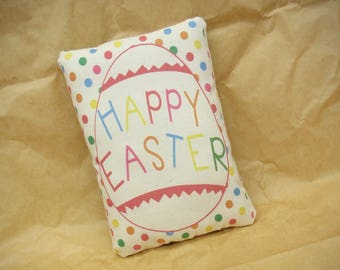 Happy Easter pillow | Easter gift | Easter basket filler | Easter present | Easter basket stuffer | Easter decoration | Easter home decor