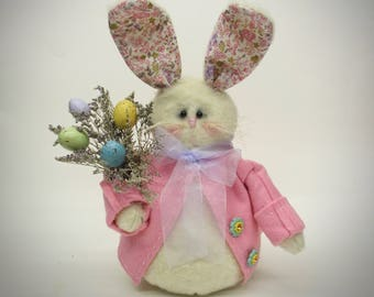 Stuffed Easter Bunny | Rabbit decor | Easter bunny decoration | Easter decoration | Spring home decor | Easter decor | Spring decoration
