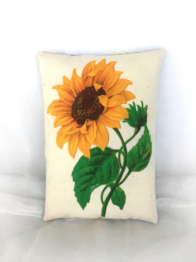 Sunflower Pillow Home Decor Summer Decorations