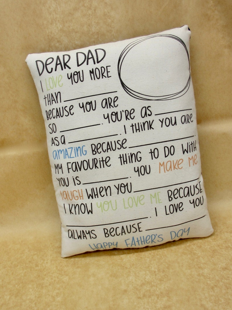 3529cc22c533 Personalized Gift for Dad from Child