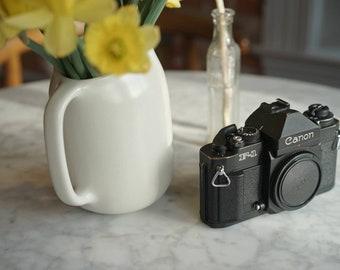 Canon New F-1 - Professional 35mm SLR Camera