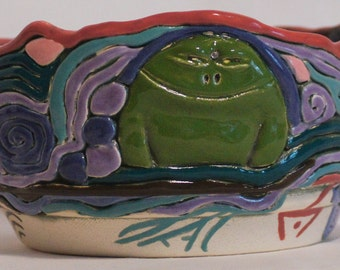 Prince of Frogs Bowl