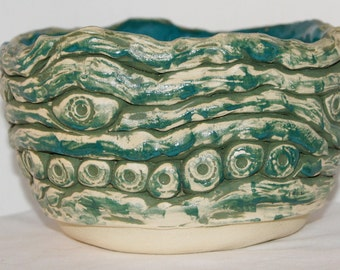 SALE! Indian Turquoise Rope Bowl