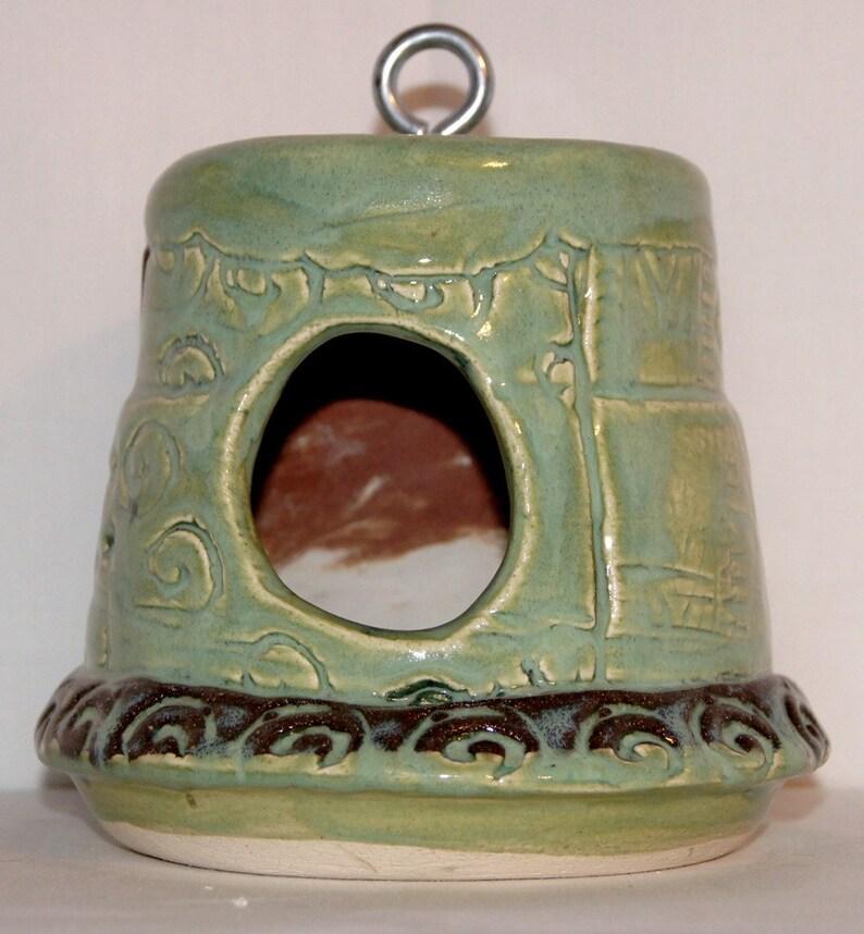Mint Green Birdhouse