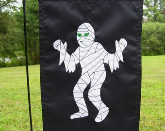 Halloween Mummy 12 inch by 18 inch Garden Flag