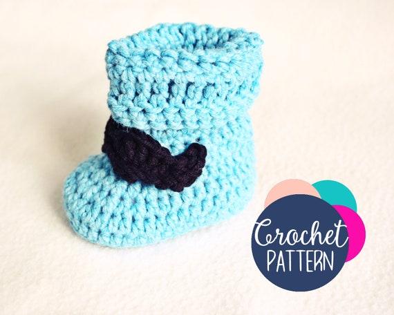 Crochet Baby Slippers Pattern / Gringo