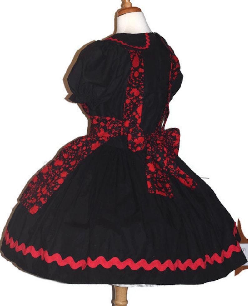 LAST Bloody Alice in Wonderland Halloween Costume Blood Splatter Horror Scary Spooky Dress /& Apron Custom Size including Plus Sizes