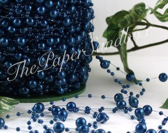 Monaco Blue Beads Garland BY THE YARD