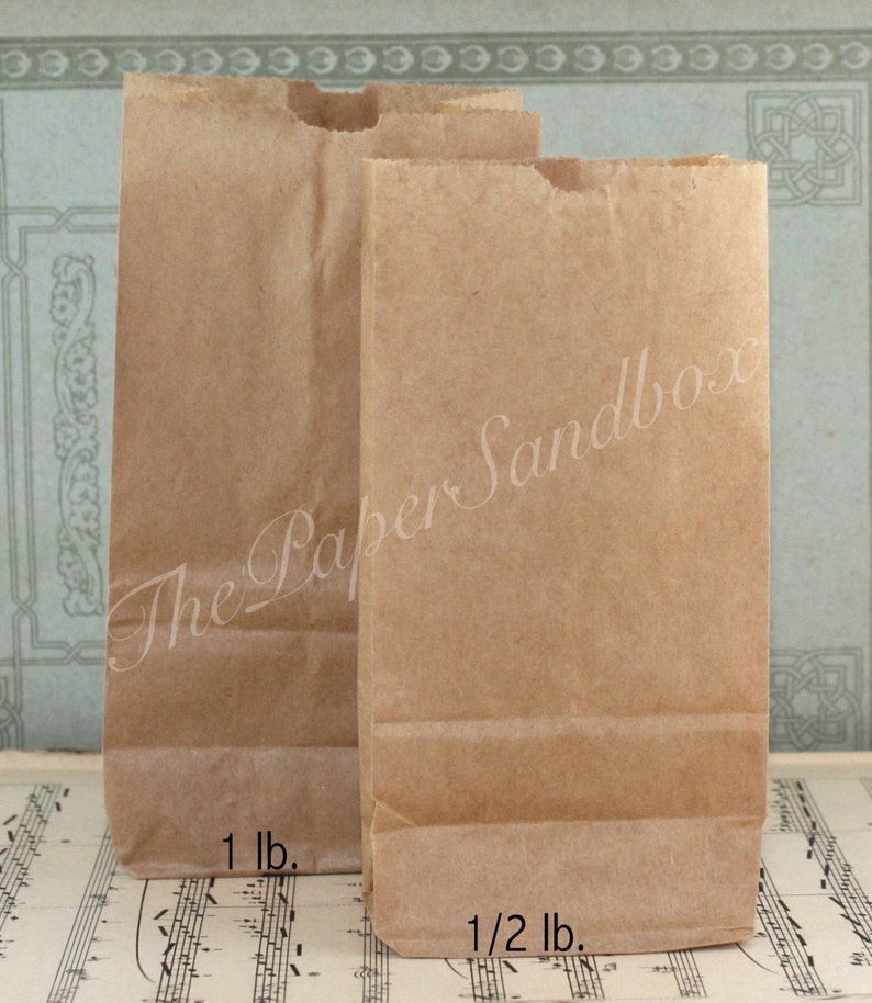 photograph regarding Printable Paper Bags referred to as 100 Economical Very little Brown Paper Luggage, Printable Luggage, Sweet Luggage, Handle Baggage, Goodie Luggage, Halloween Handle Luggage, Deal Luggage