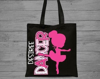 Girls Dance Tote Bag  0a81444534fae