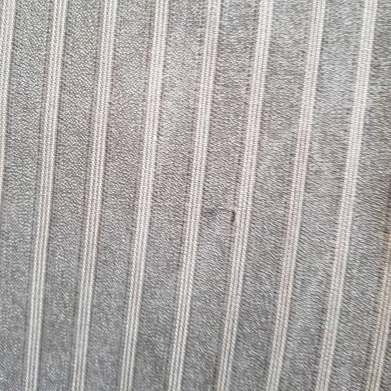 1940s French Salt Pepper Grey Stripe Workwear Tro… - image 9