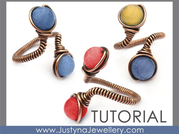 Draht Schmuck Tutorial Perlen Ring Tutorial Wire Wrapping