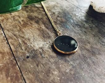 Gold Little Dipper necklace