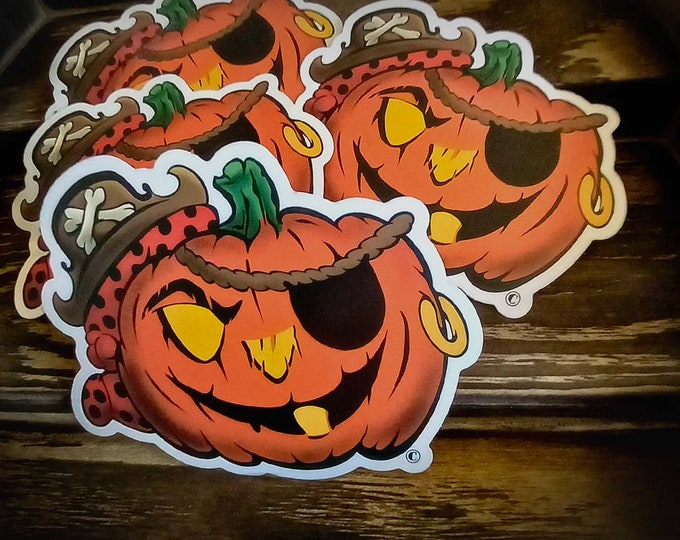 Pumpkin Jack, the Jolly Pirate!
