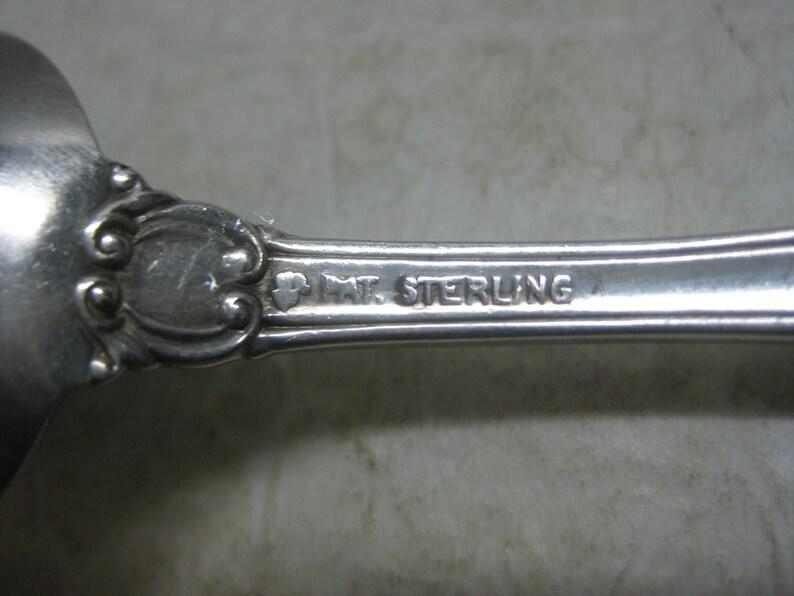 Antique International Sterling Silver 5 78 Teaspoon Warwick 31 Grams Mono/'d  #070319