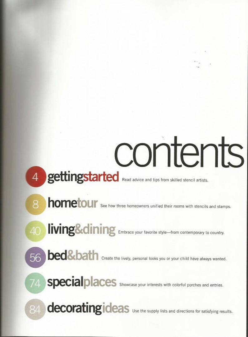 Better Homes and Gardens Stenciling Ideas /& Decorating Techniques Book