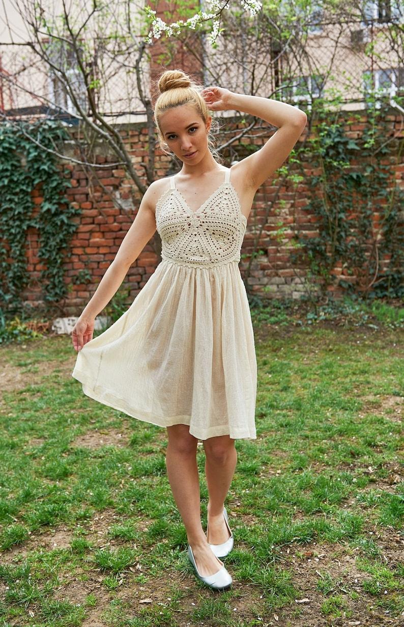 Summer Wedding Dress Plus Size Wedding Dress Alternative | Etsy