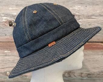 Levi s Orange Tab Daisy Mae Denim Bucket Hat 4132a709377