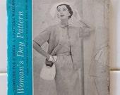 WOMEN'S DAY 5055 Size 16 Bust 34 1Vintage 950's Middy Jacket Skirt Blouse Pattern