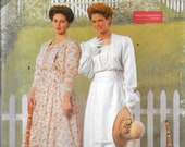 SIMPLICITY 3650 UNCUT Size 4 6 8 Edwardian 1910's Tea Afternoon Garden Party Dress OOP Retro Costume Collection Pattern