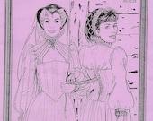 ALTER YEARS AY01 Easy Renaissance Corset UNCUT Size 14 16 18 Stays Ren Faire Tudor Elizabethan Costume Pattern