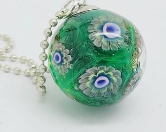 Handmade Ocean Bead, OOAK