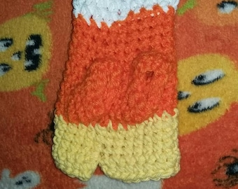 Candy Corn Sweater for Smallest Teacup