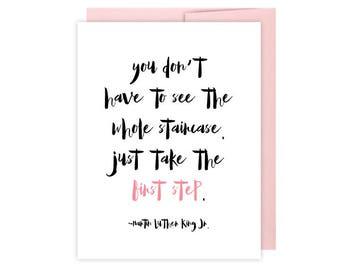 breast cancer card inspirational cancer card brave etsy