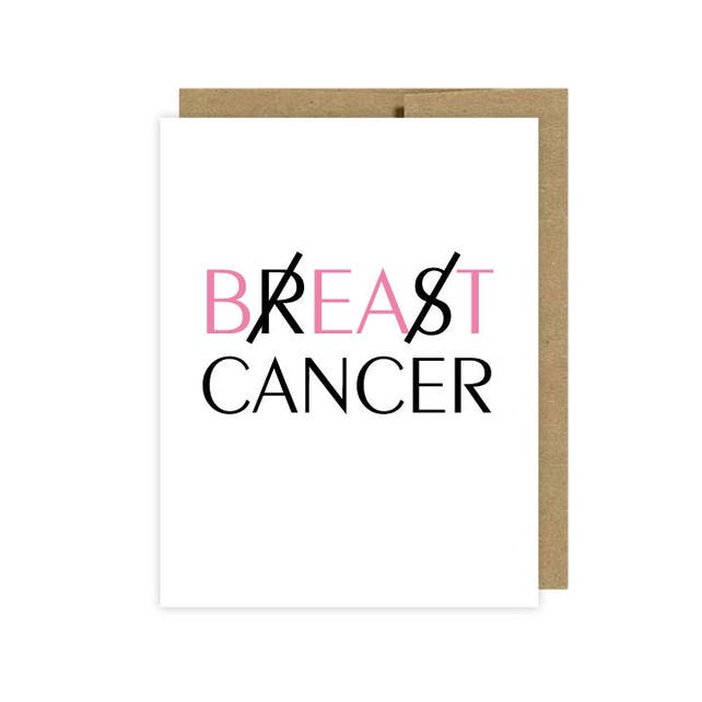 Breast Cancer Card - etsy