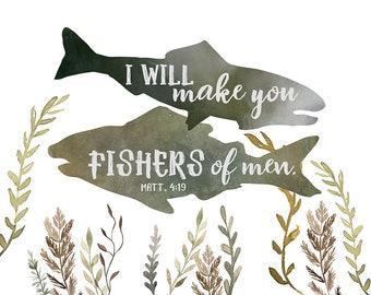 Fishers Of Men Art Etsy