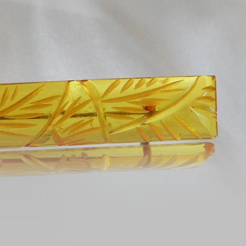 Bakelite Bar Pin waalaa. Art Deco Pin 1930s Bakelite Bar Pin Carved Bakelite Brooch Apple Juice Bakelite Pin Brooch Bakelite Brooch