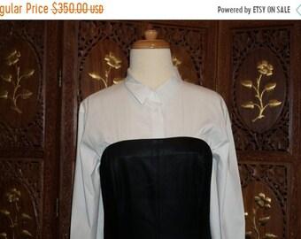 ON SALE Narcisco Rodriquez Black Strapless  Gown Sz 10