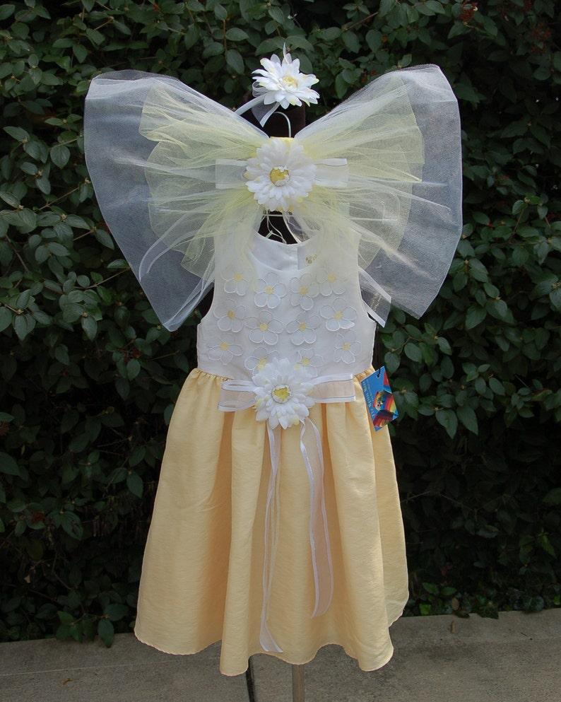 Daisy Flower Fairy Costume image 0