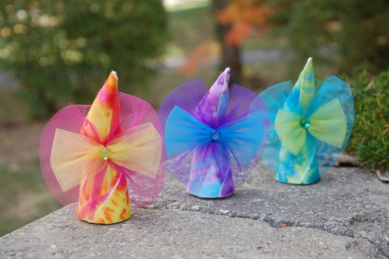 Tie Dye Fairy Dolls Set of 3 image 0