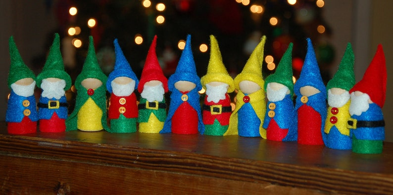 Wee Woodland Gnomes Set of 3 image 0