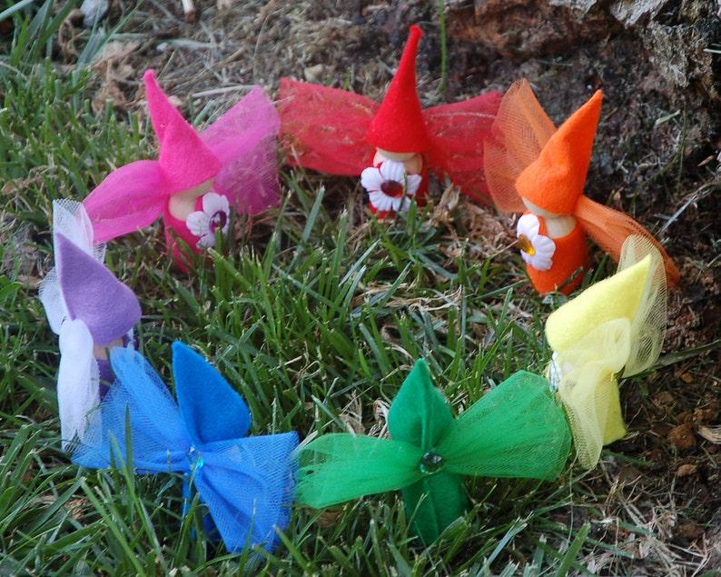 Flower Fairy Dolls Set of 3 image 0