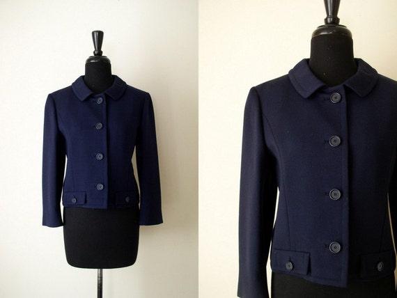 Vintage 1960's Ben Zuckerman Cropped Coat / Helen