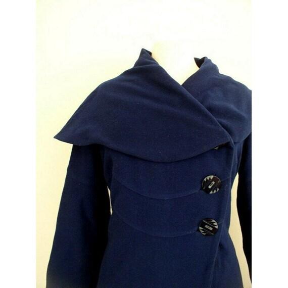 Vintage 1930s Vogue Couturier Princess Coat / 30'… - image 4