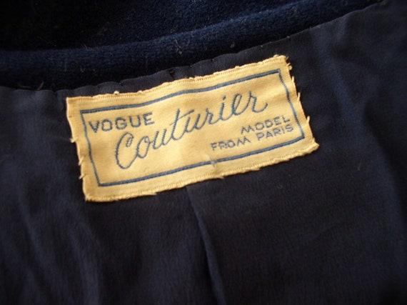 Vintage 1930s Vogue Couturier Princess Coat / 30'… - image 9